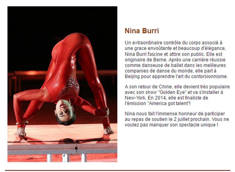 les artistes.Nina